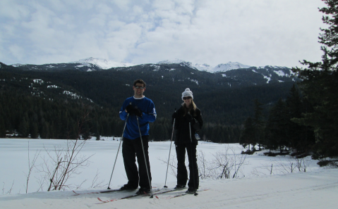 5.cross country skiing